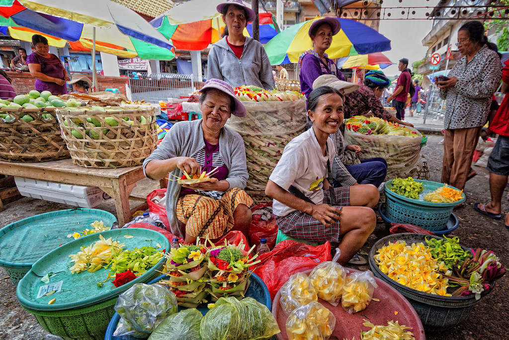 badung traditional market