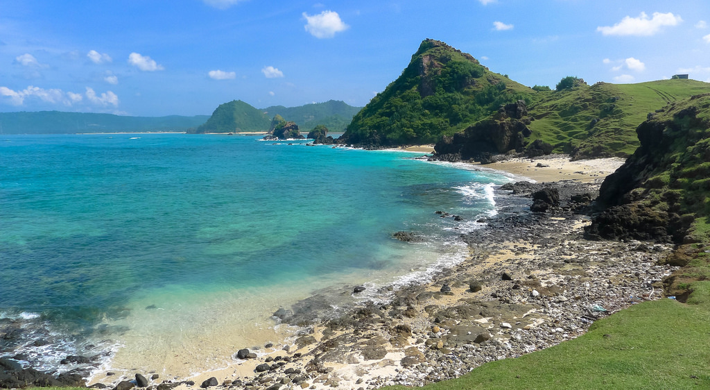 seger beach southern lombok island