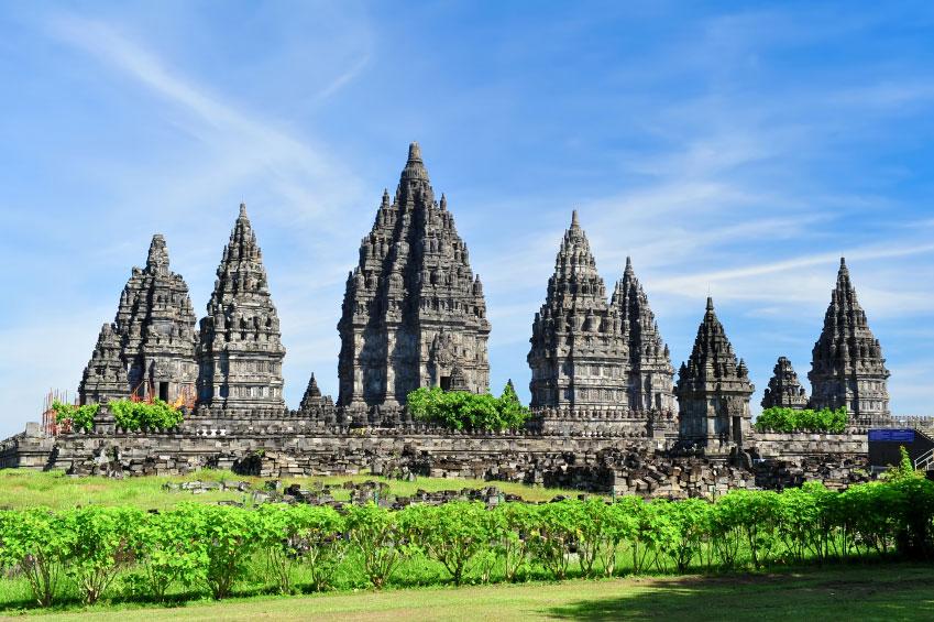 the temple of prambanan