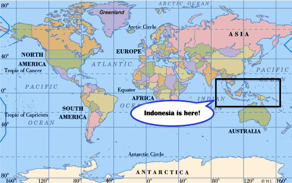 where-is-indonesia