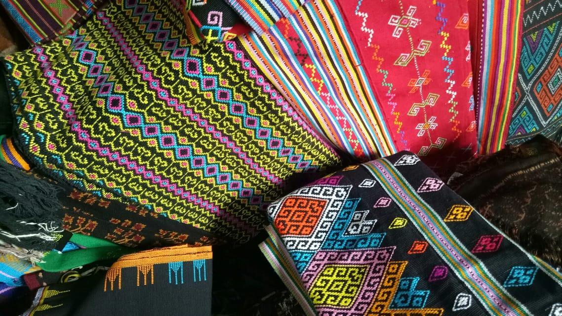 beautiful ikat fabric