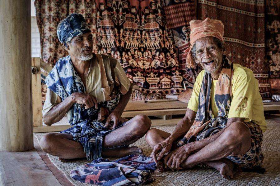 sumba villagers