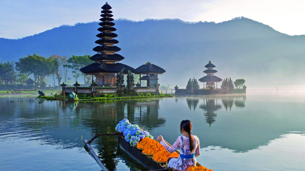 a thousand temple of bali