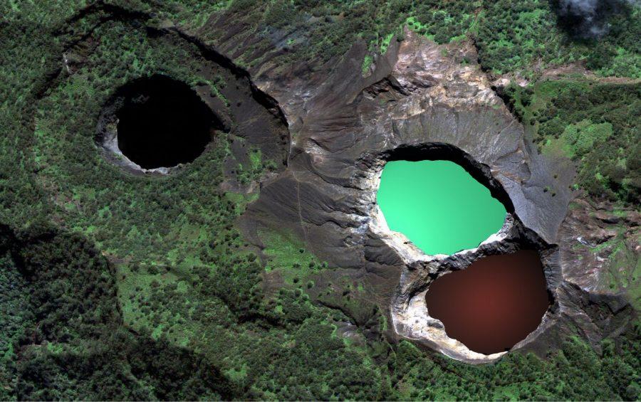 lake of kelimutu