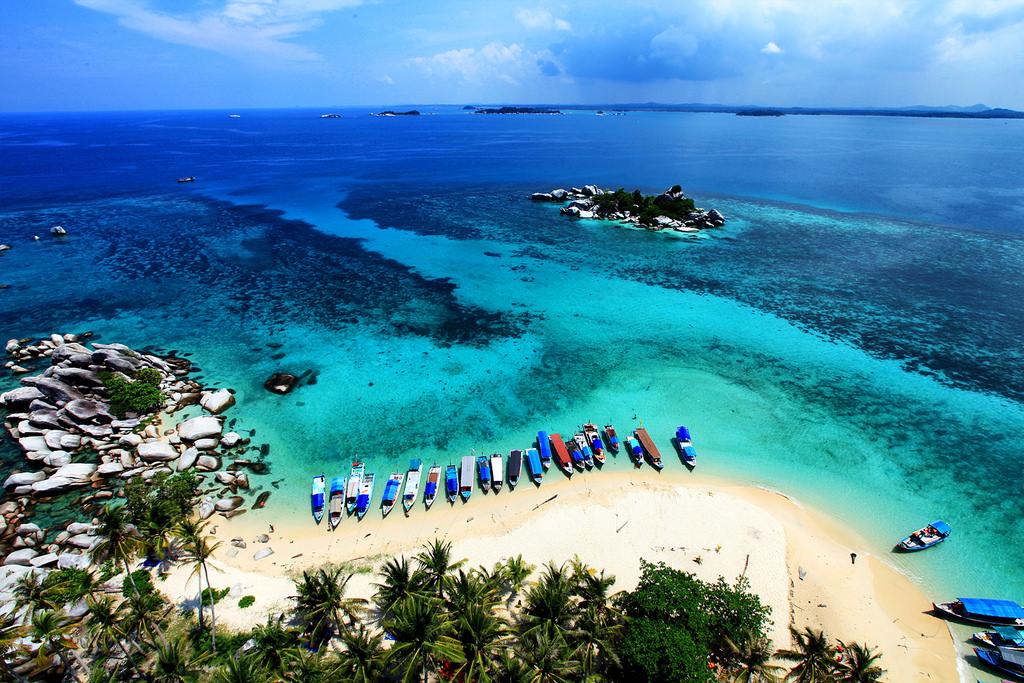 belitung island beaches