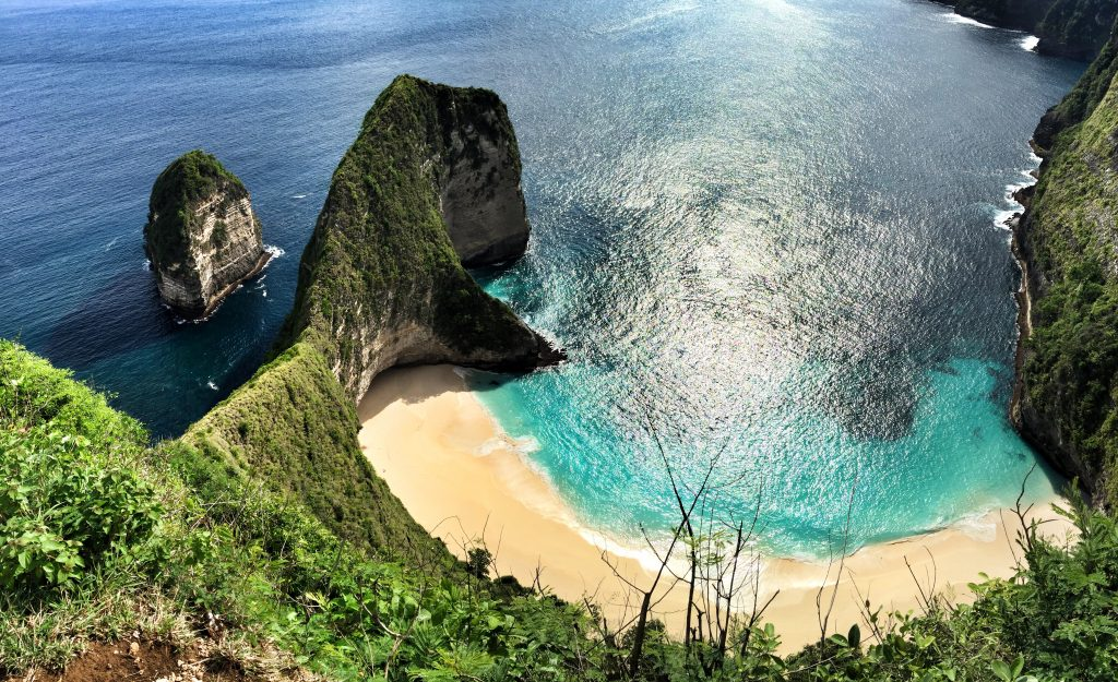 Kelingking Secret Point Beach