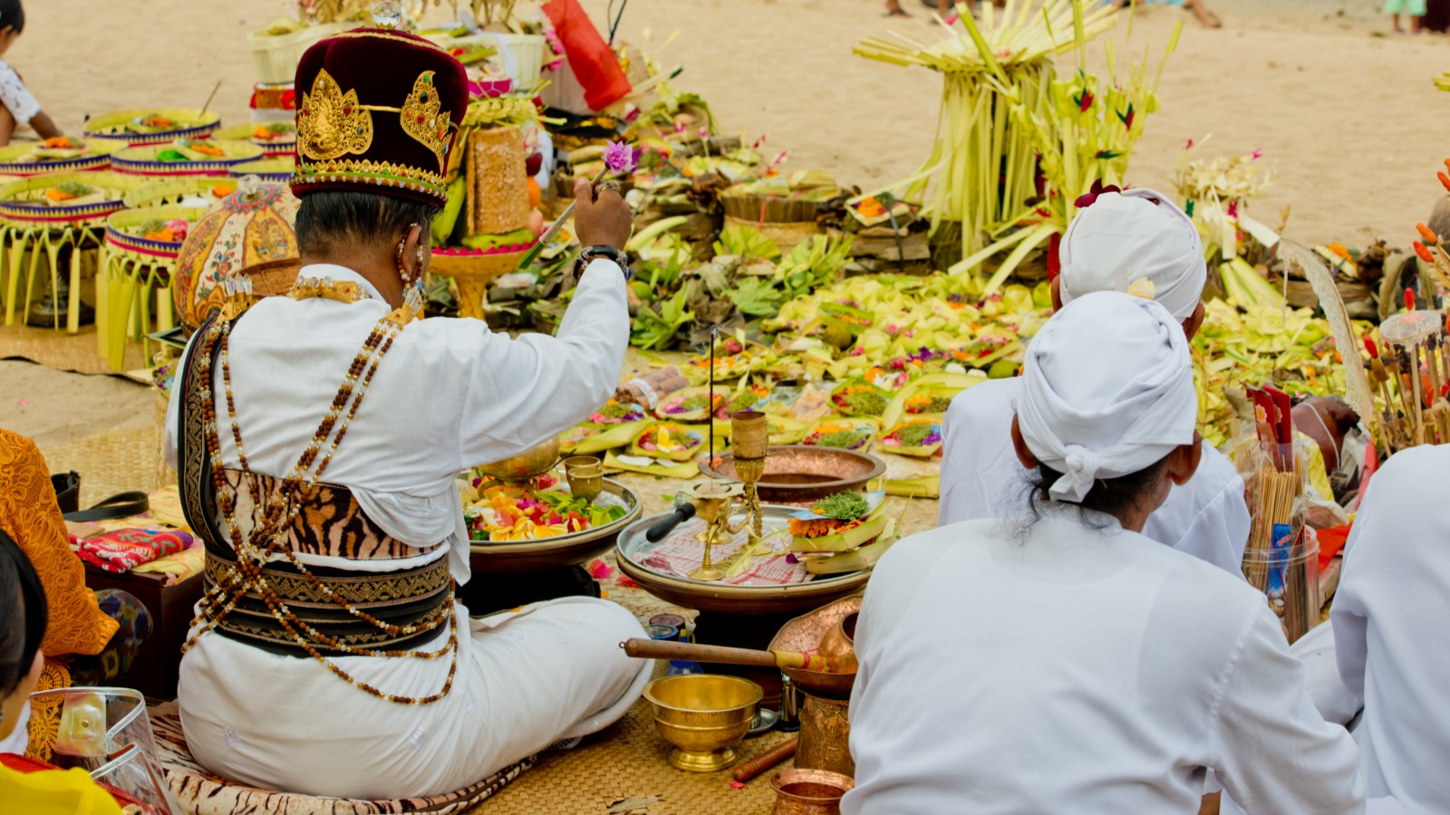Priest Hindu Bali