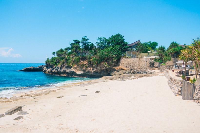 sandy bay beach lembongan