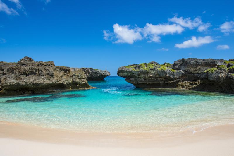 Blue beach Sumba