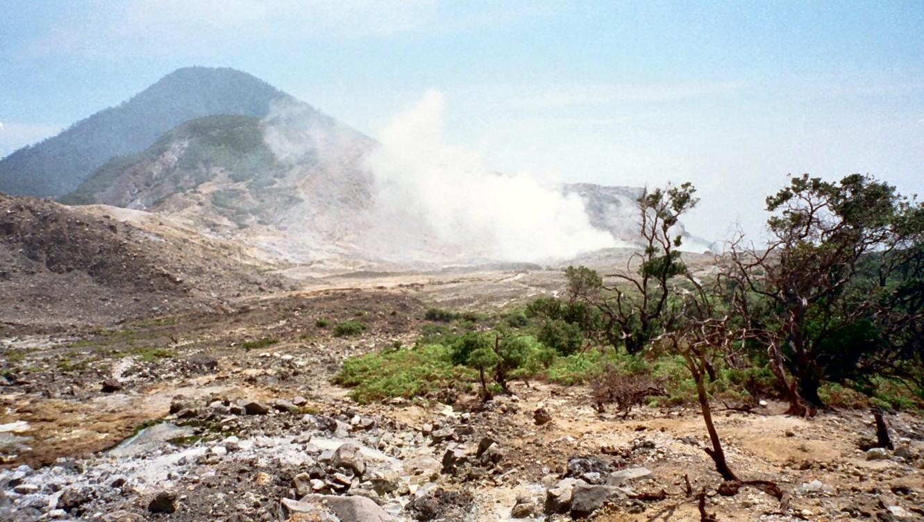Mount Papandayan Garut