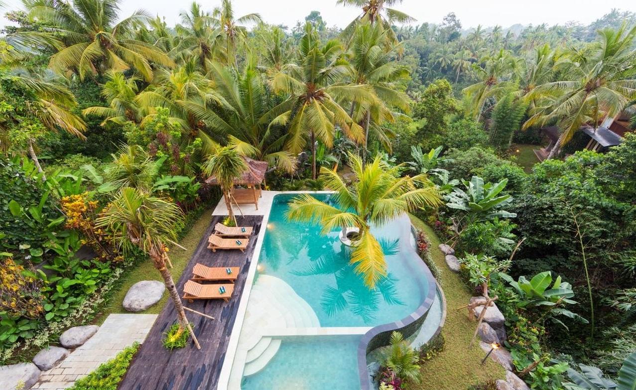 a family resort in ubud bali