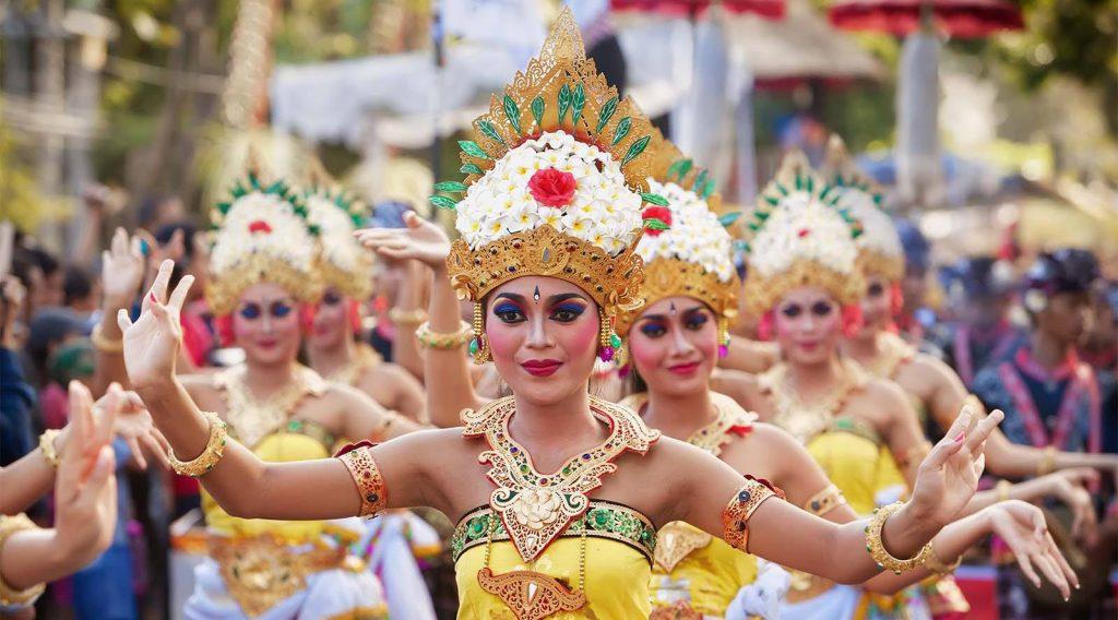bali arts festival opening parade