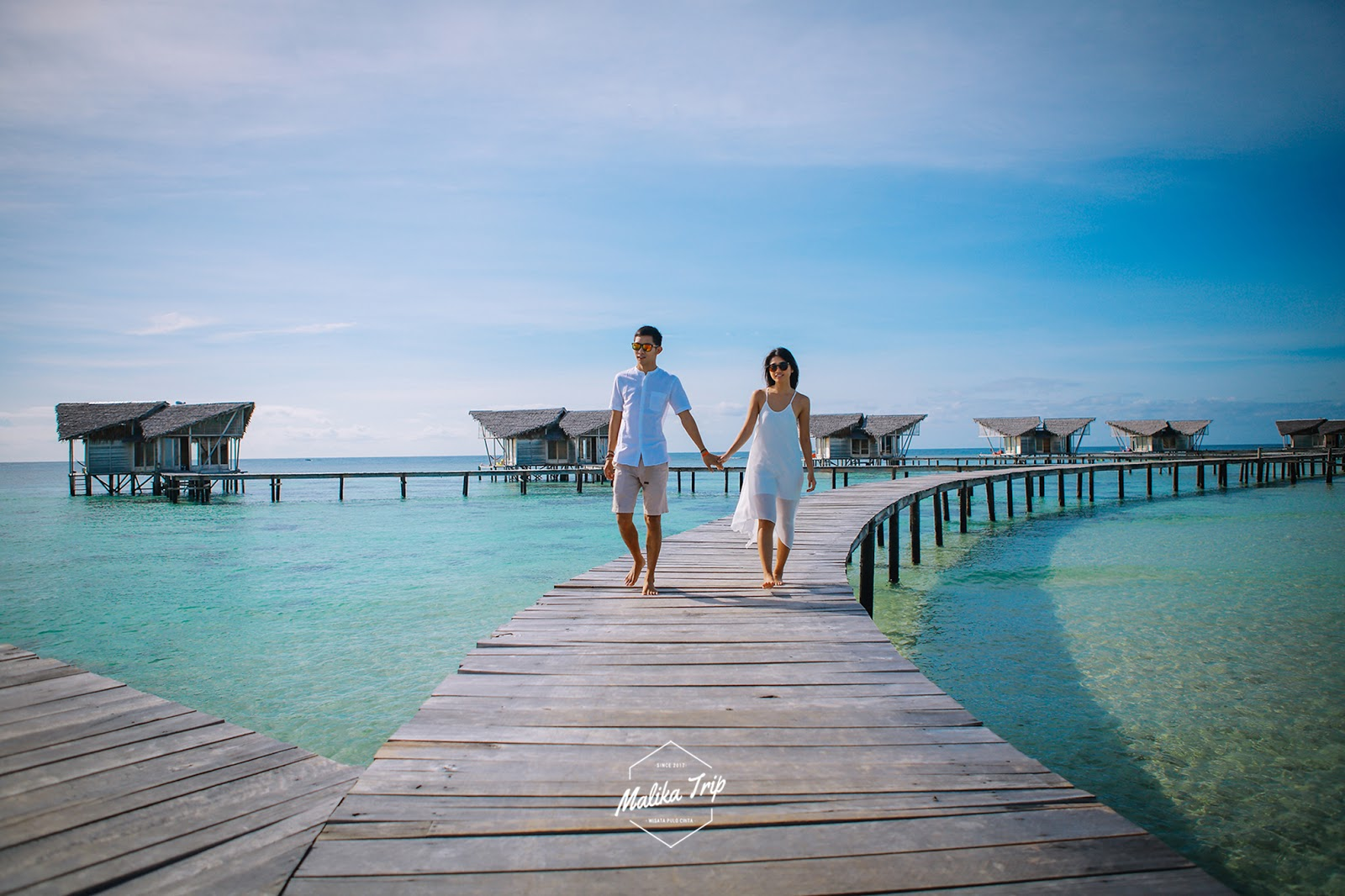 honeymoon in pulo cinta
