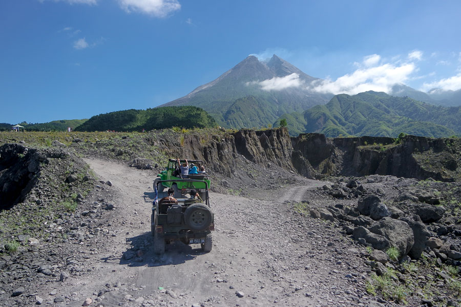 merapi volcano indonesia adventure tours