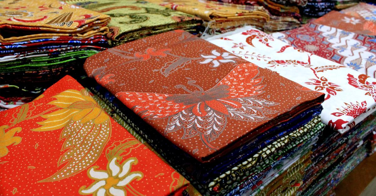 batik as souvenirs