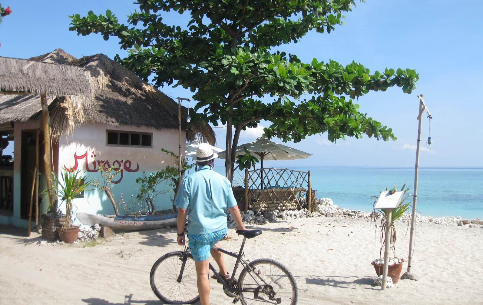 cycling the gili air