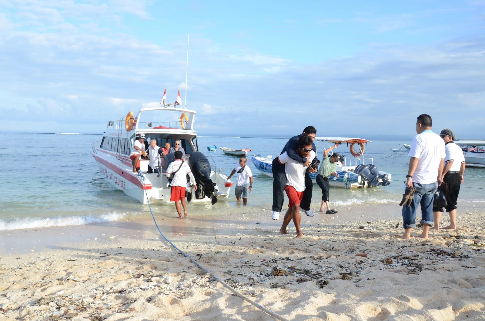 departing to nusa penida from sanur port