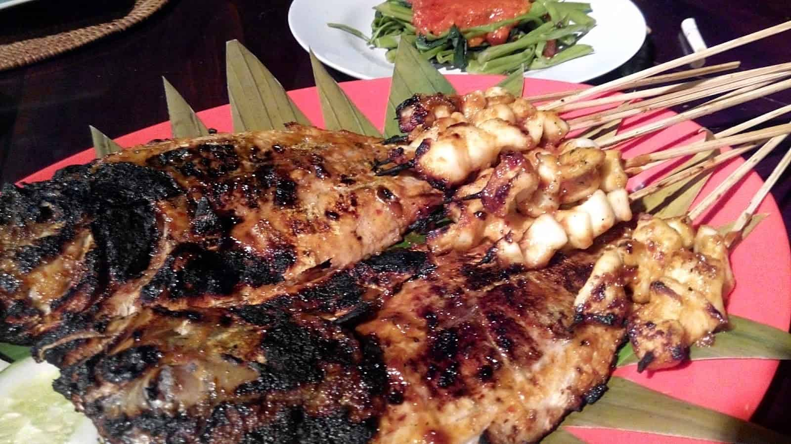 grilled fish lombok