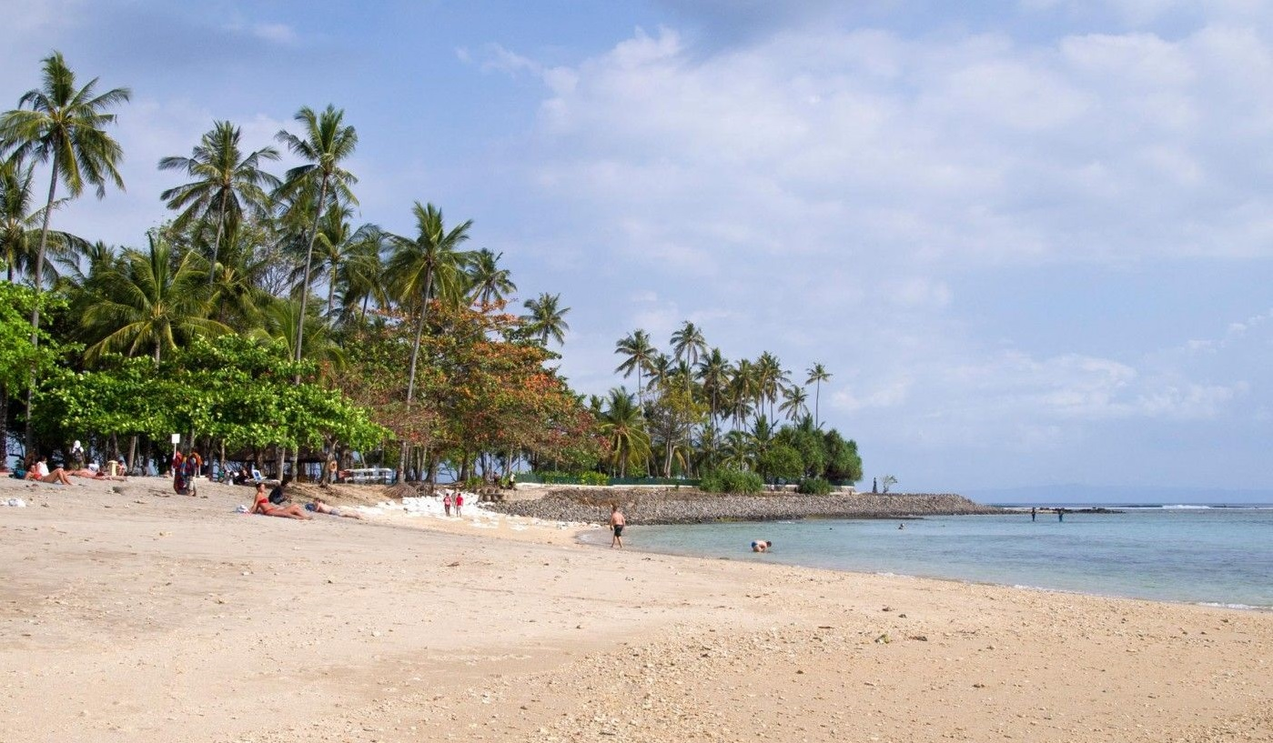 lombok best beaches of Senggigi