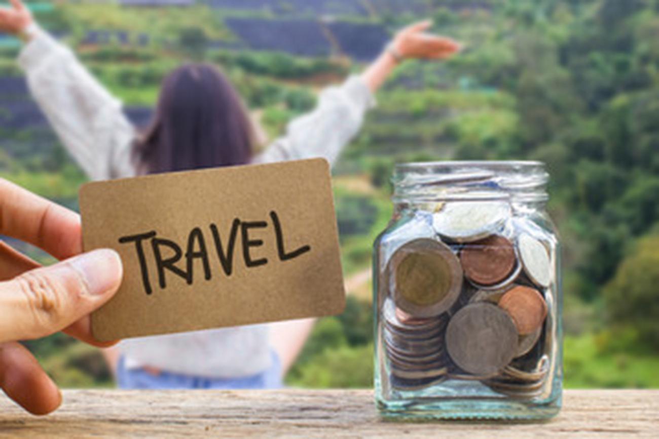prepare money for traveling