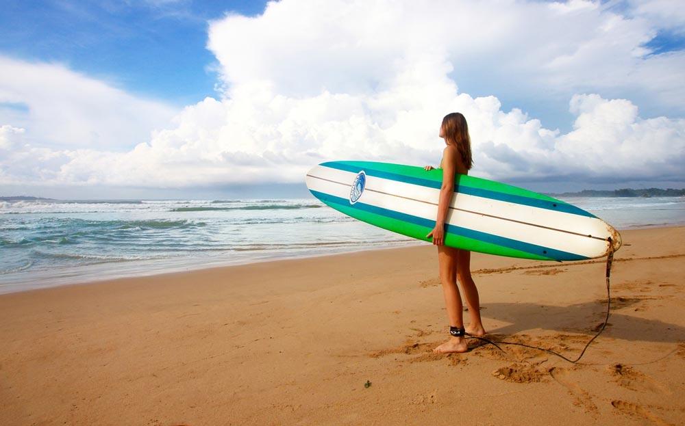 surf the gili air beach