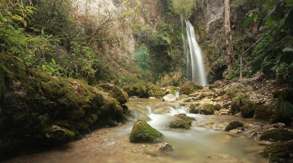 the beauty of tinggima wollo waterfall