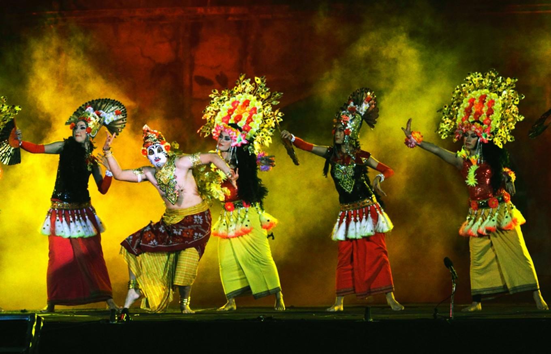 art performance in sipa festival solo