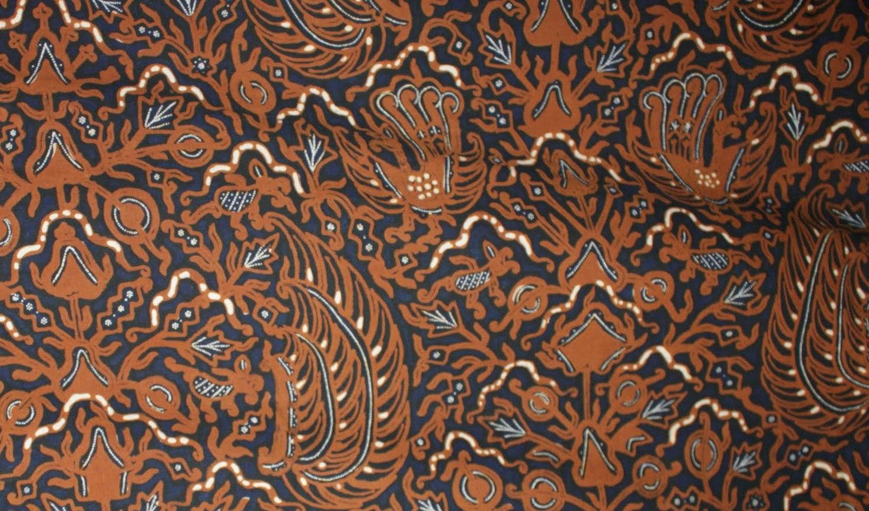 bali batik motif from indonesia