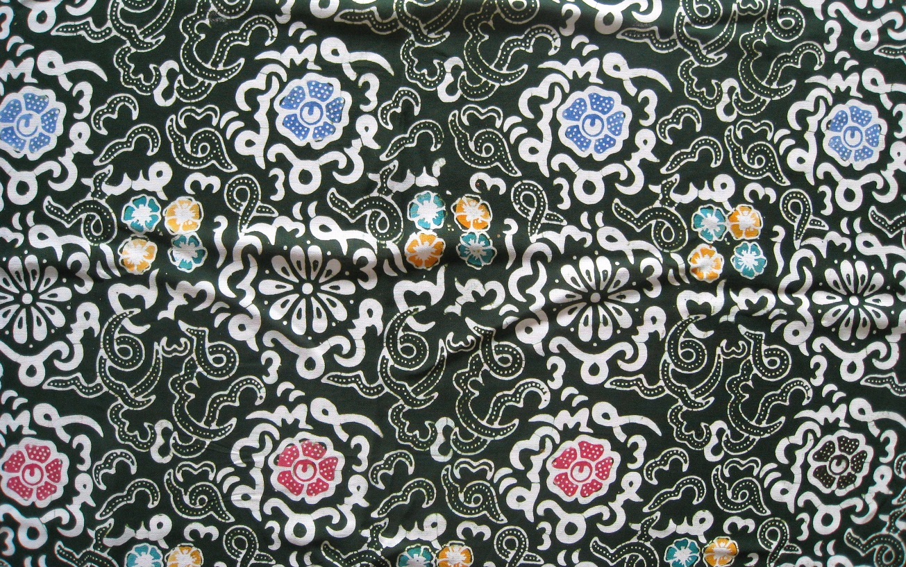 bengkulu batik motif production