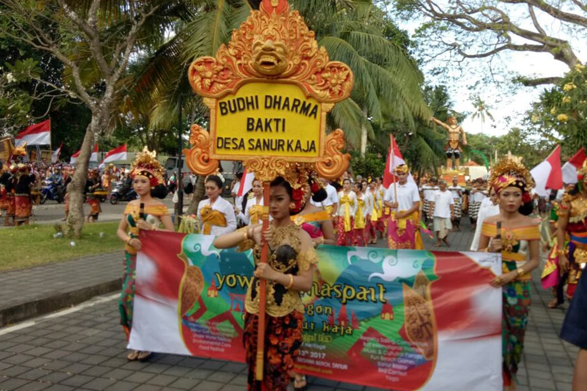 cultural parade in svf