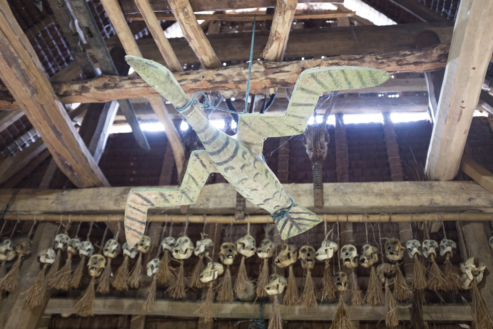 inside uma house of mentawai