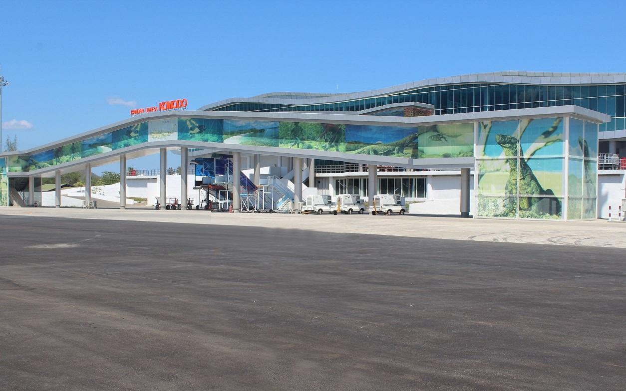 komodo airport in labuan bajo