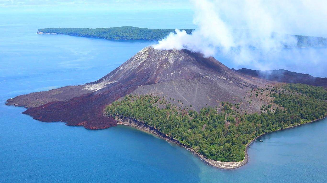 mount anak krakatau