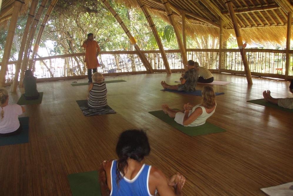yoga activity in Power of Now Oasis sanur