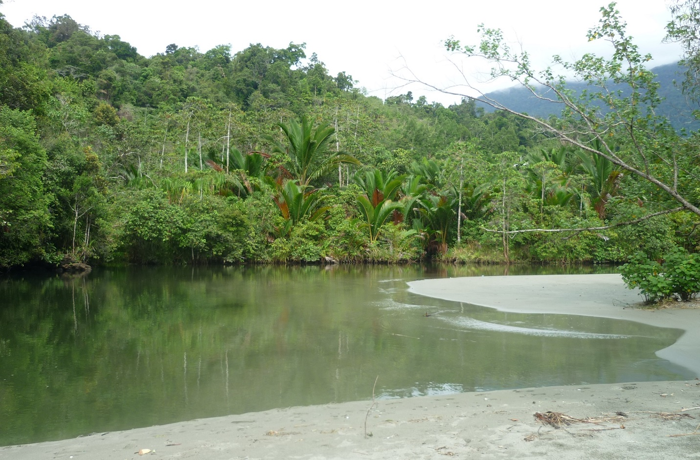 amai beach in depapre district