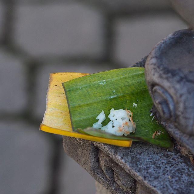 banten saiban in bali offering