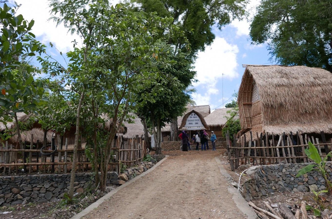 ende sasak village in lombok