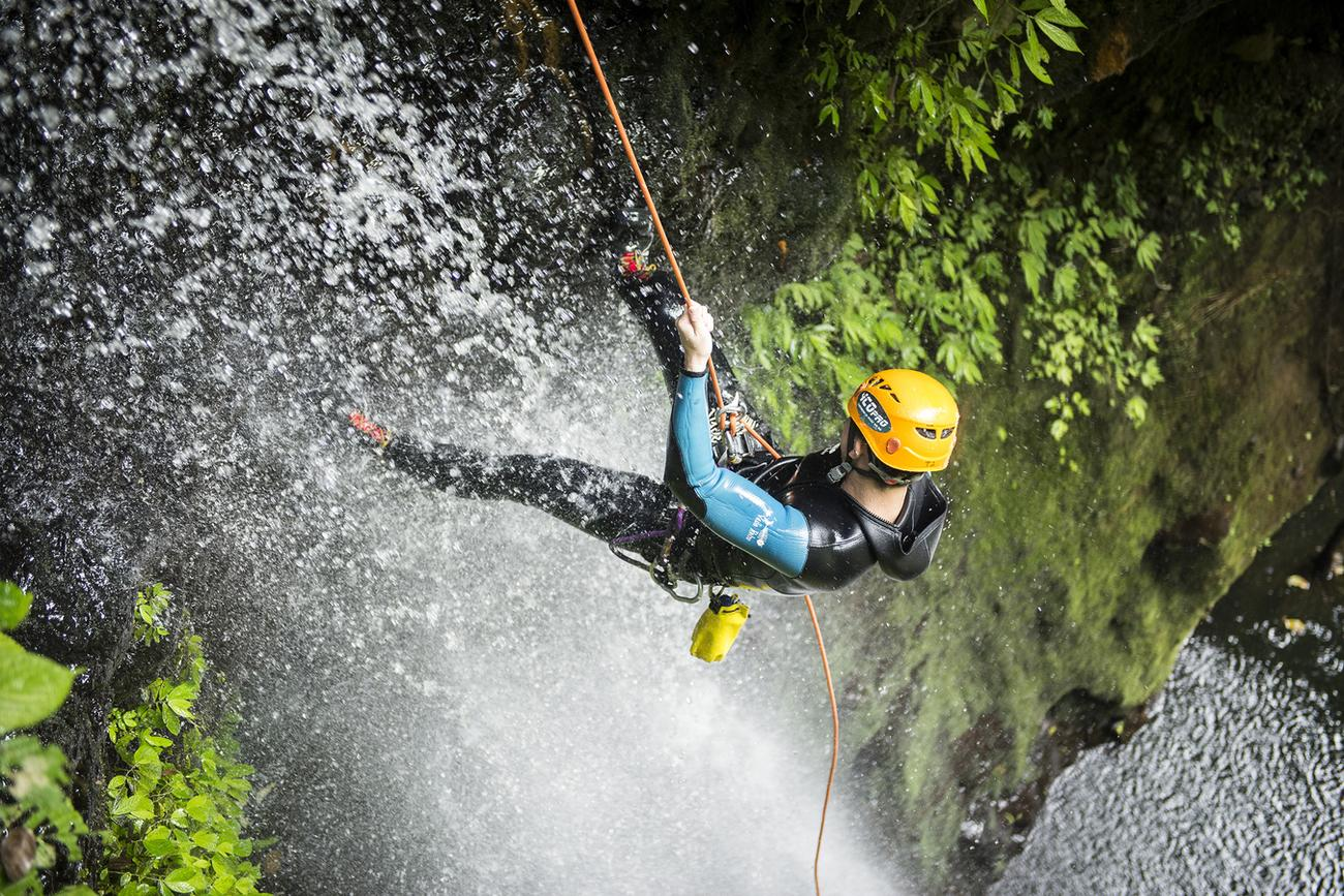 gitgit canyoning is a challenging activity