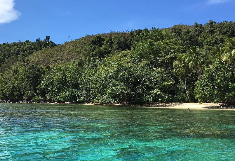 harlem beach in jayapura regency