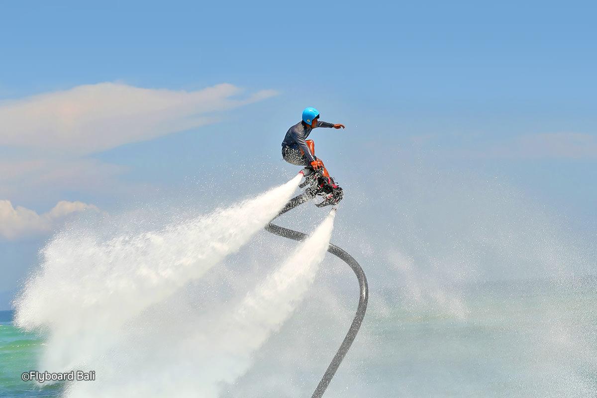tanjung benoa flyboarding extreme watersport