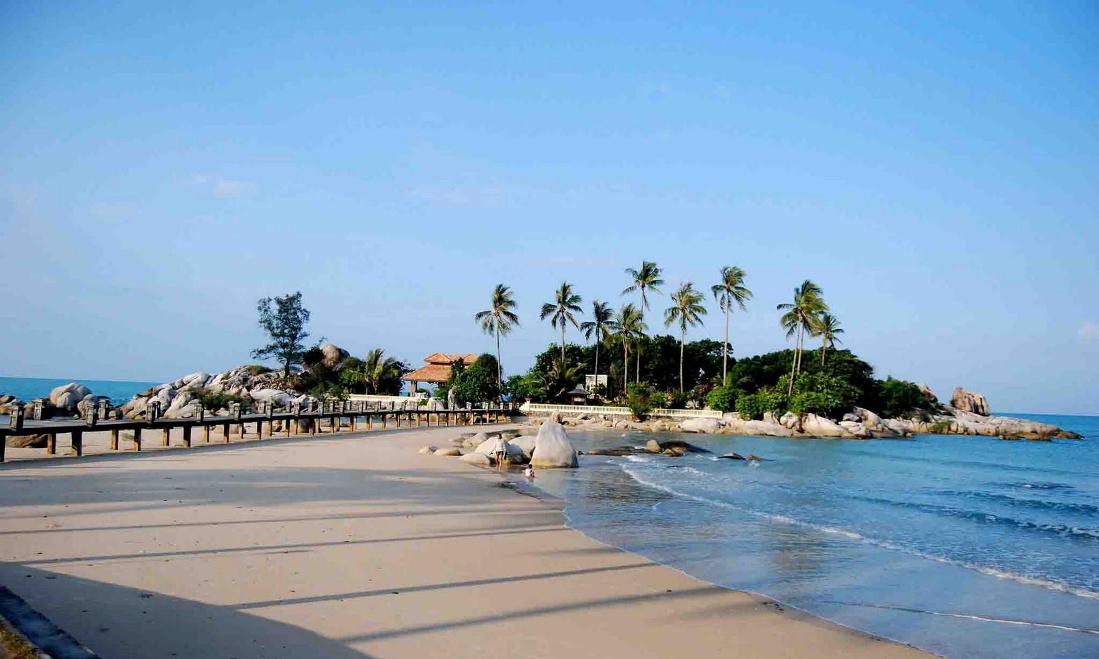 tanjung kasuari beach in sorong papua