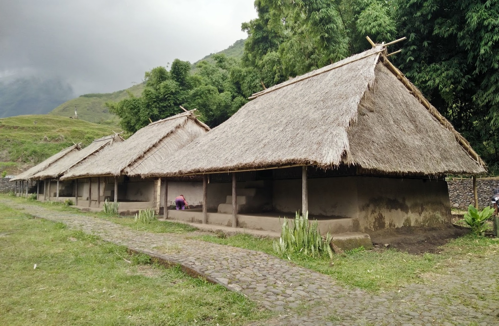 traditional house of blek village