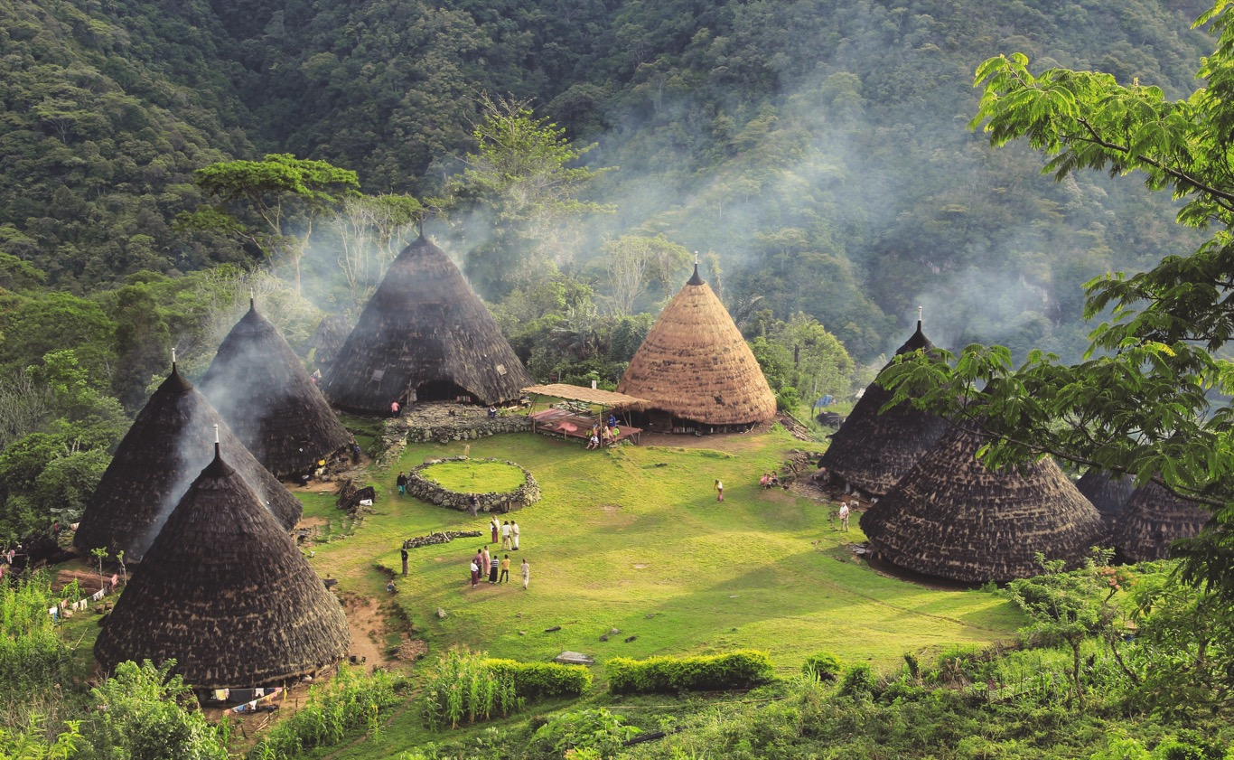 wae rebo village as one of main tourist attractions in labuan bajo