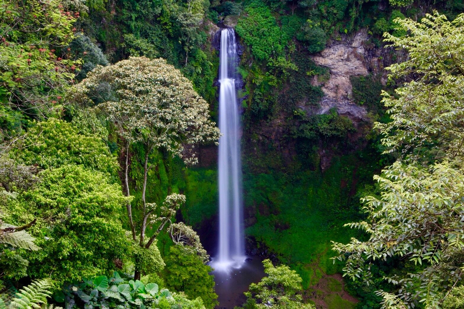 Cimahi Waterfall in West Java