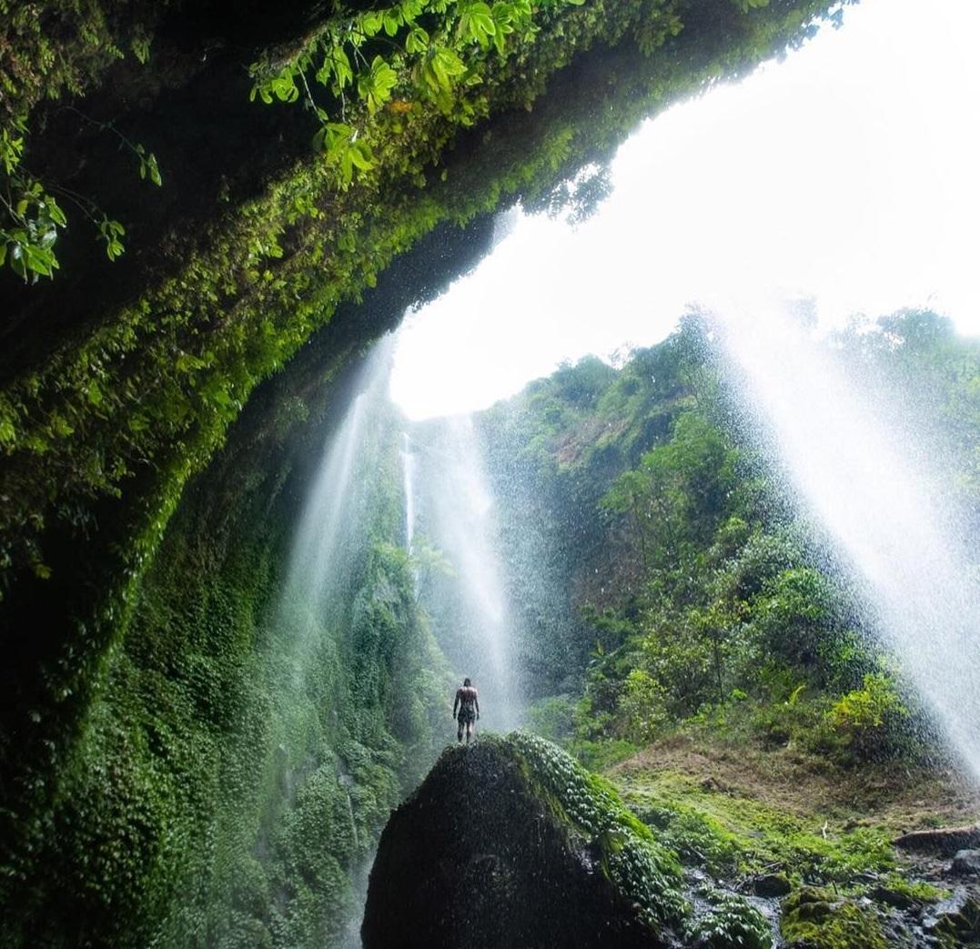Madakaripura Waterfall in East Java