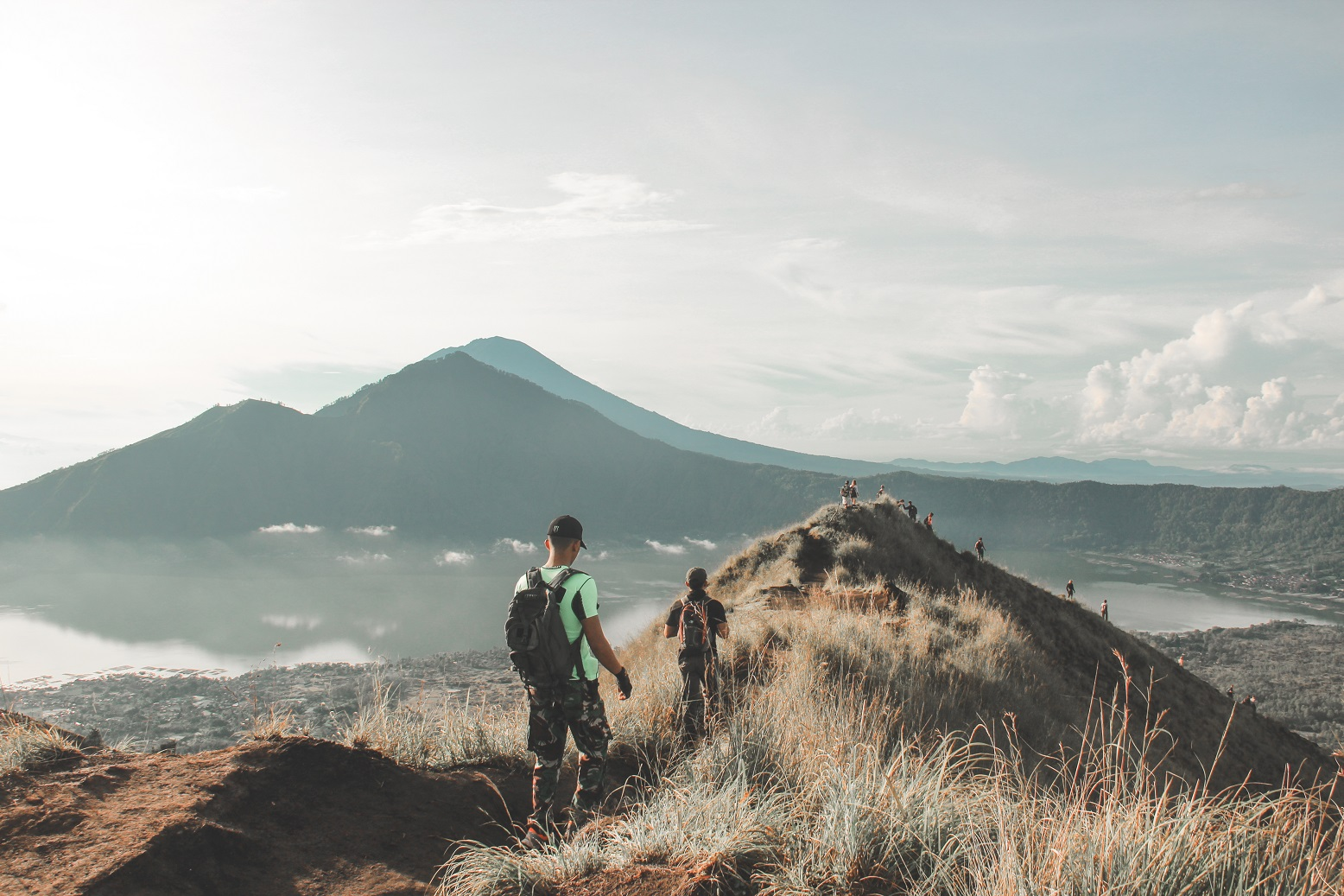 Route to Mount Batur Starting Point or Basecamp