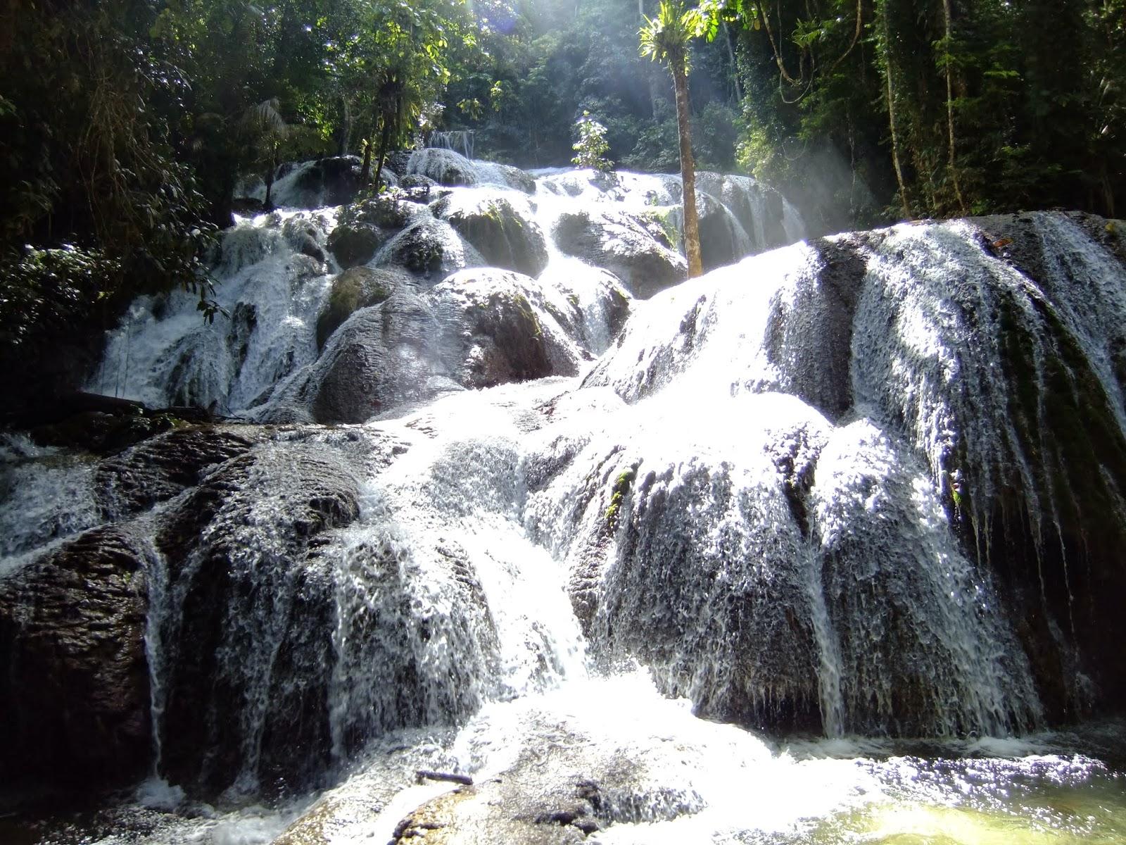 Saluopa Waterfall in Central Sulawesi