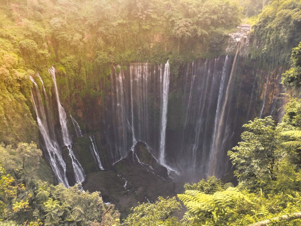 Sewu Waterfall in Central Java