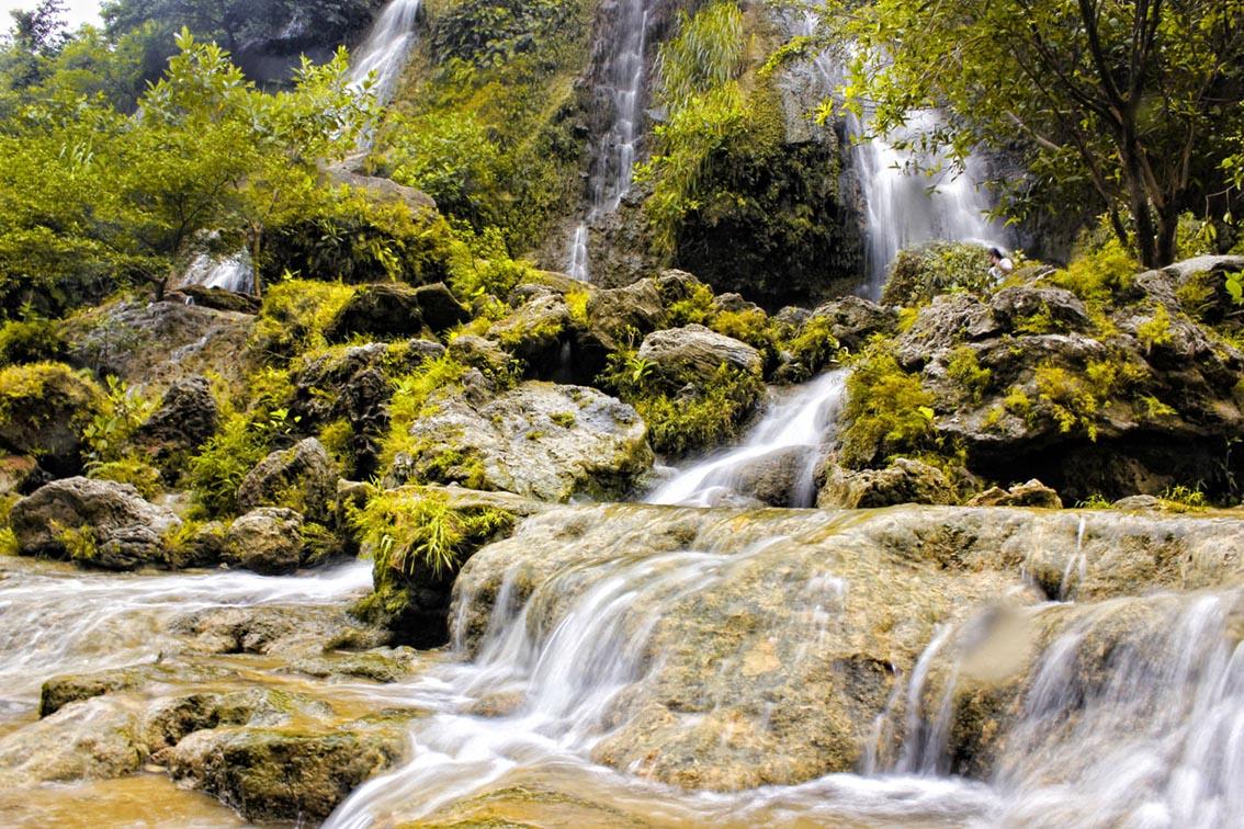 Sri Gethuk Waterfall in Yogyakarta