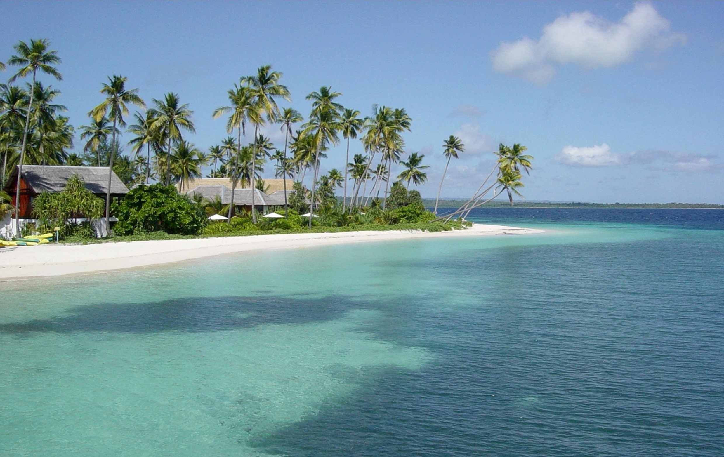 anano beach one of tourist attraction in wakatobi
